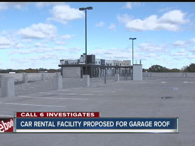 Car rental facility proposed for garage roof in Broad Ripple