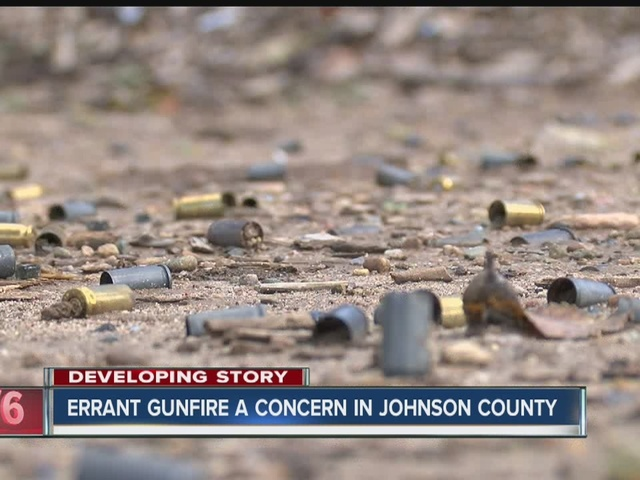 Errant gunfire a concern in Johnson County