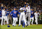 Cubs to World Series for 1st time since 1945