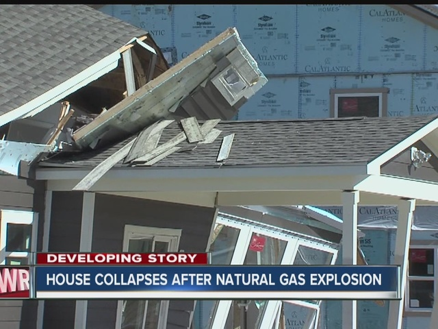 House destroyed by natural gas explosion in Noblesville