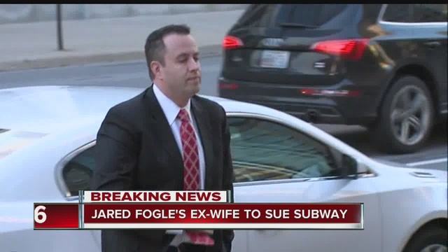 Ex-wife of former Subway pitchman Jared Fogle sues company