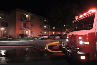19 evacuated from retirement home fire