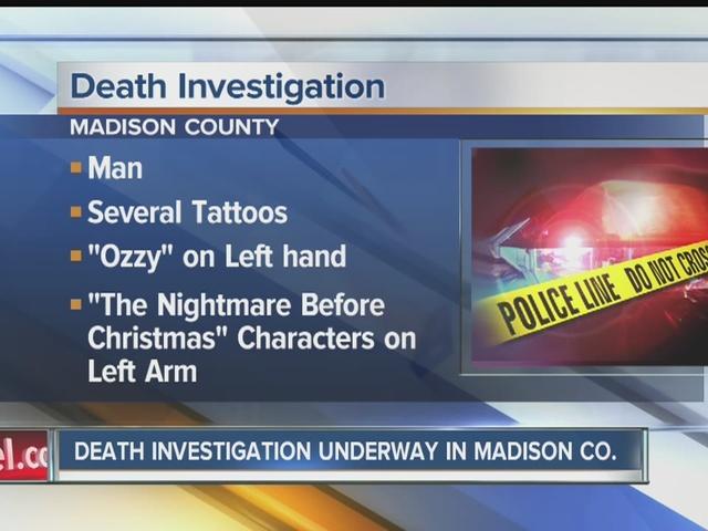 Death investigation underway in Madison County after body found