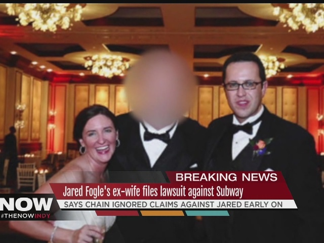 Jared Fogle's ex-wife sues Subway, claims chain knew of husband's…