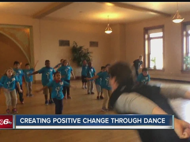 Creating positive change through dance