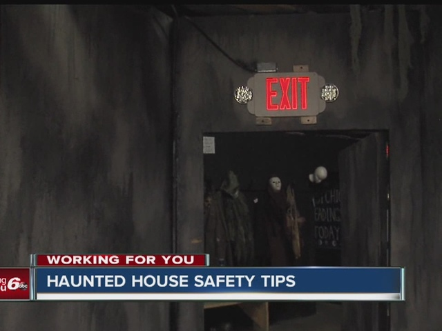 Haunted house safety tips