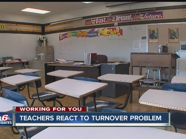 Teachers, candidates respond to educator turnover