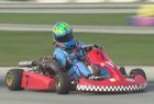 Center Grove student racing towards history