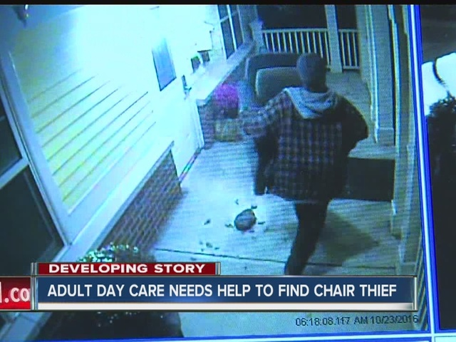 Adult day care seeks help in identifying suspect