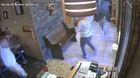 VIDEO: Deer crashes through northern Ind. cafe