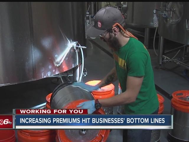 Increasing premiums hit businesses' bottom line