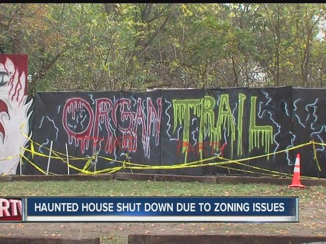 Muncie haunted house shut down for zoning violations