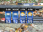 Grab the jacket: High of 56 today
