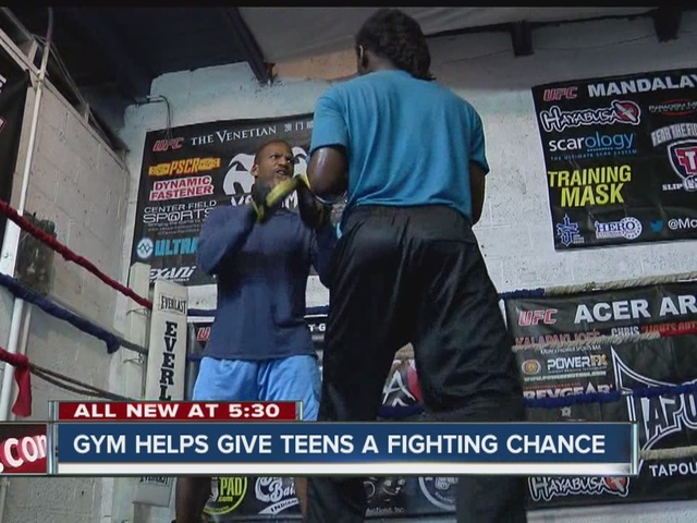 Gym helps give teens a fighting chance