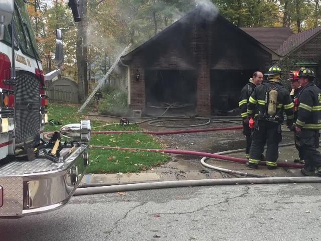 Home fire in Geist