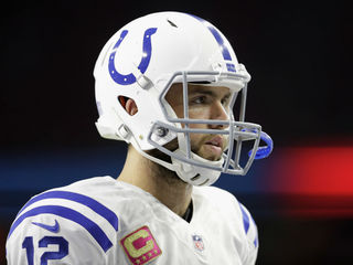 Colts QB Andrew Luck won't play Thanksgiving day
