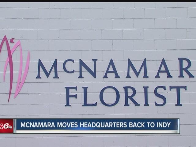 McNamara moves headquarters back to Indy