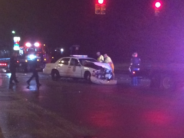 IMPD officer injured in crash