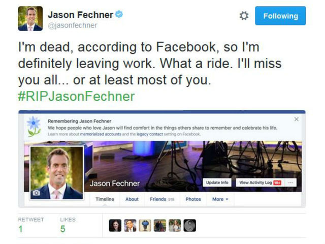Facebook's Mark Zuckerberg is dead... maybe you are too