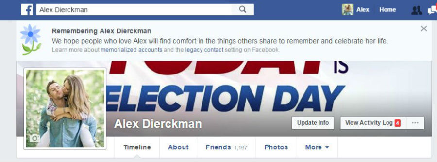 how to get a facebook page memorialized