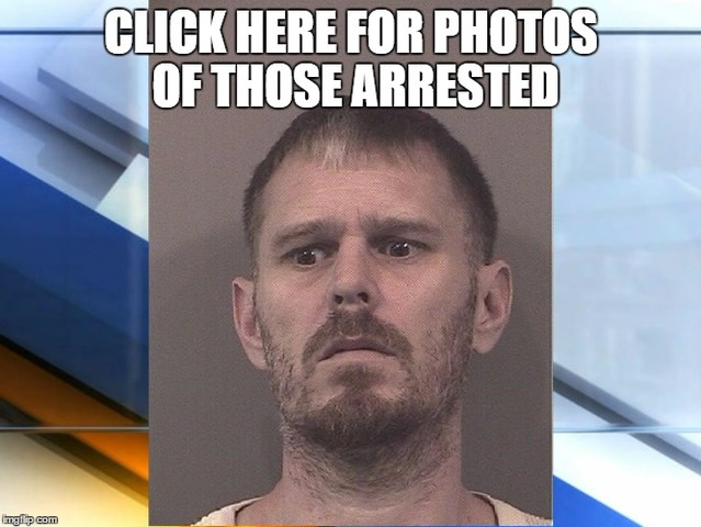 35 arrested in massive Johnson County drug sweep