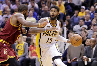 Pacers beat LeBron-less Cavs 103-93