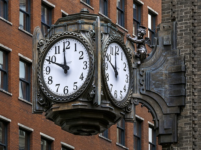 restored historic ayres clock unveiled