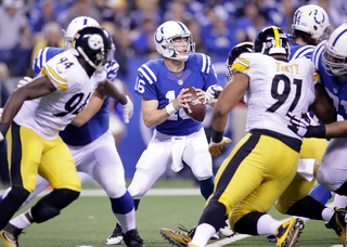 Colts fall to Steelers 28-7