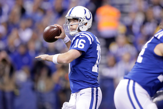 PHOTOS: Colts lose to Steelers on Thanksgiving