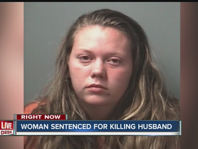 Bloomington woman sentenced for killing husband