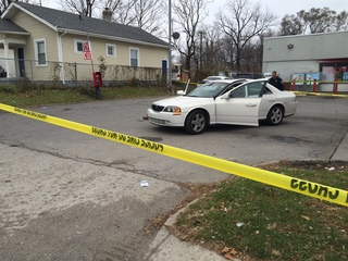 1 hospitalized after east side shooting