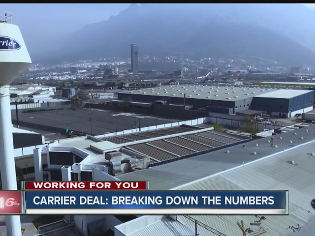 Carrier deal: Breaking down the numbers