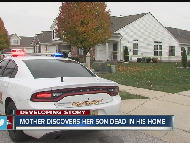 Greenwood mother finds son dead inside home