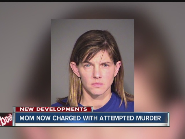Mom who injected feces into son's IV now charged with attempted murder