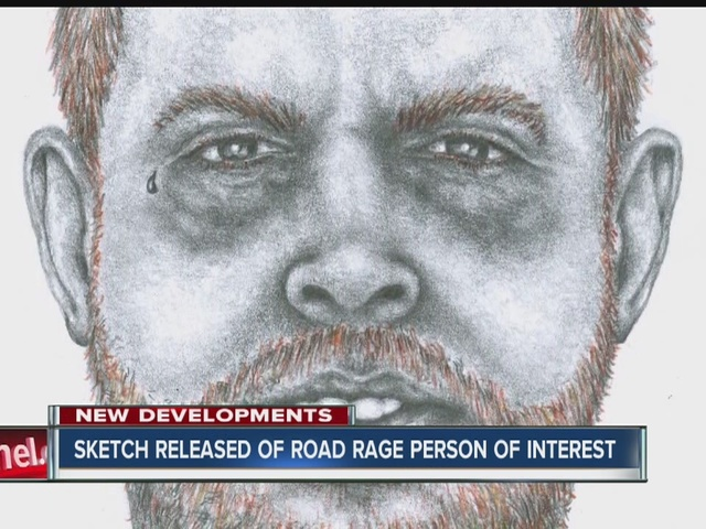 Sketch released of person of interest in Road Rage shooting