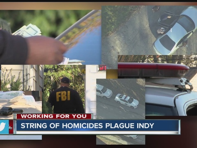 String of homicides plague Indy