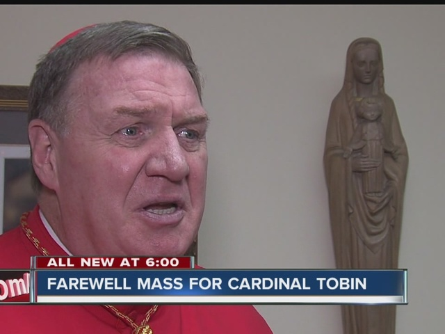 Farewell mass held for Cardinal Tobin