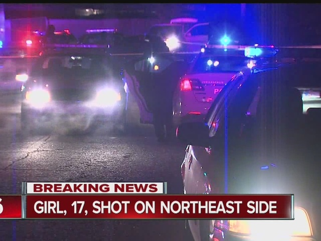 17-year-old girl shot multiple times inside northeast side home