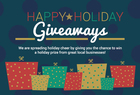 Stocking stuffer Happy Holidays Giveaway