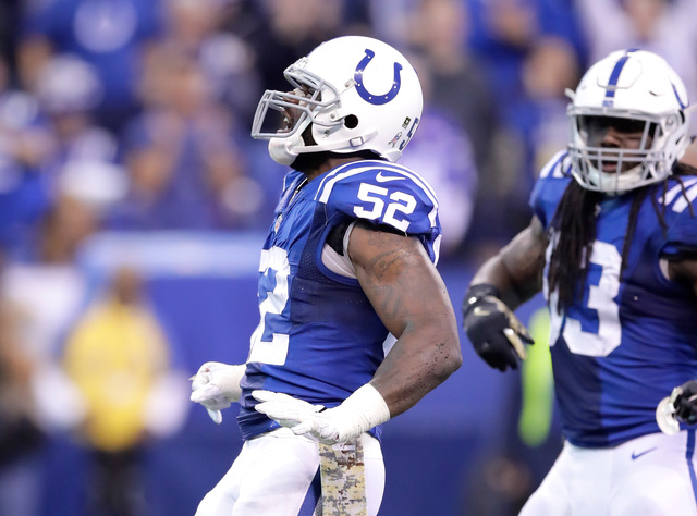 Colts LB Jackson suspended for four games