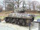 Historic tank vandalized at Huntington park