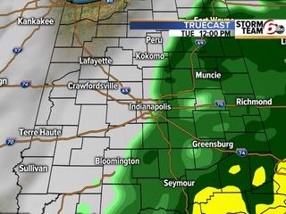TIMELINE: Rain impacting morning commute