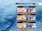 Cold air coming today, flurries possible tonight