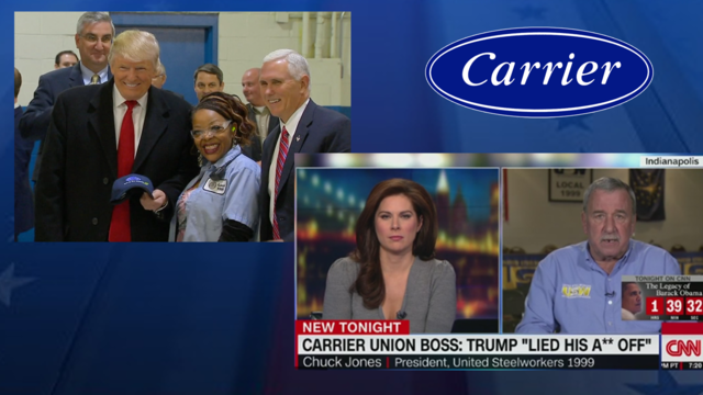 Trump: Terrible job by Carrier union leader