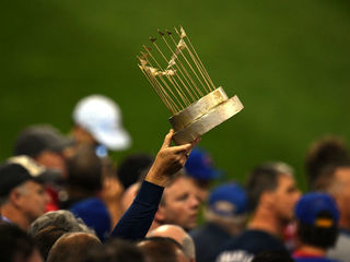 Cubs World Series trophy coming to Indy