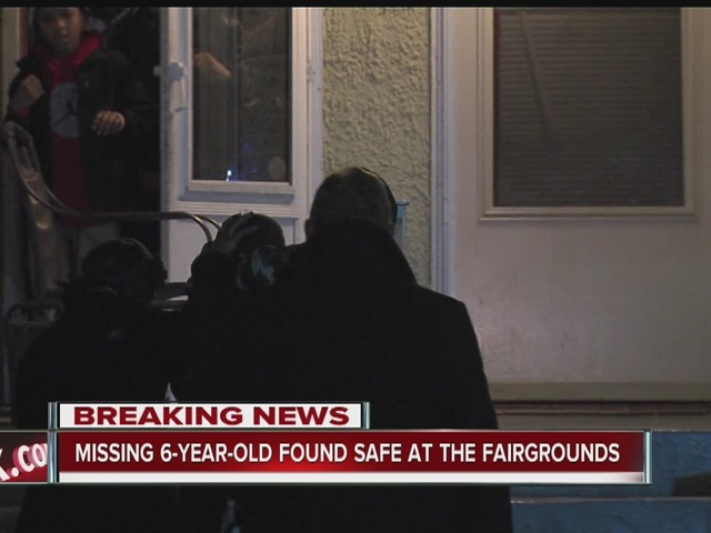Missing 6-year-old found safe at State Fairgrounds