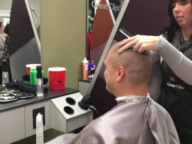 Greenwood hair salon trying to break record for good cause
