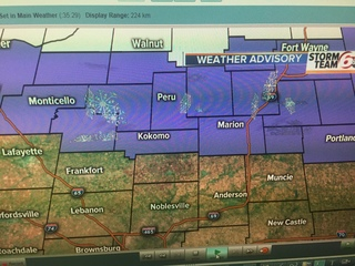 ALERT: Wintry mix Central. Snow North today.