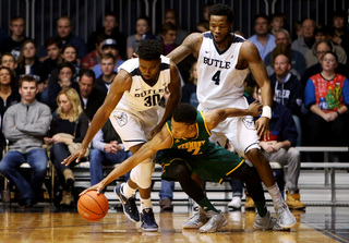 Butler beats the University of Vermont 81-69