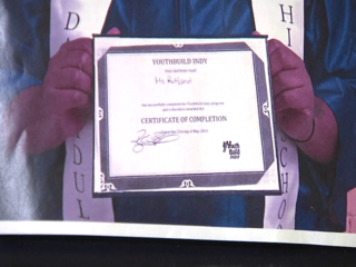 YouthBuild Indy helps people get diplomas, jobs